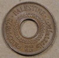 Palestine 1942 5 Mils Unc