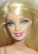 Blonde Haired Dressed Barbie Doll - Growing Long or Short Gown