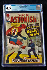 Tales to Astonish #49 CGC 4.5 1963 OW pgs  Ant-Man becomes Giant Man