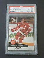 1991 Pro Set #571 PSA 10 Steve Yzerman Low Pop Only 6