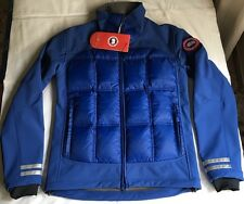 CANADA GOOSE HYBRIDGE DOWN JACKET SOFT SHELL NEOPRENEPIUMINO PACIFIC BLU NEW S