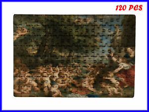 Caravaggio - The Worship of Venus Art Paint - 120 Piece Jigsaw Puzzle