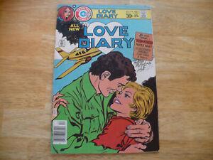 LOVE DIARY # 102 (6.5 FN+) - CHARLTON COMICS - DEC 1975-NICE HIGHER GRADE COMIC!