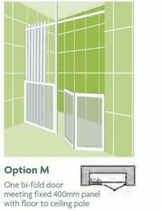 Impey Option M 750mm High Shower Screens