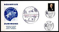 Apollo 13, Start zum Mond 11.4.1970. Sonfderkartre. SoSt(1). Bochum. BRD 1970