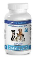 dog digestive enzymes and probiotics - DOG DIGESTIVE AID - inulin prebiotic