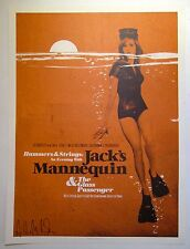 Jack's Mannequin *Troubadour Los Angeles 2008* Poster Andrew McMahon SIGNED RARE
