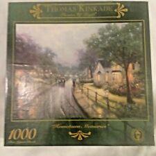 New ListingThomas Kinkade 1000 piece puzzle, Hometown Memories