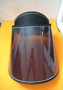 SUN VISOR For Full FACE & HEAD SHIELD MASK Solar Shade Tint UV Protectant HAT !!