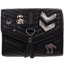 NEW BIOWORLD x Star Wars Dark Side Quilted Crossbody Bag- SALE