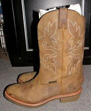 Dan Post Cowboy Certified DP2948 Tan/Mango Boots Size 12