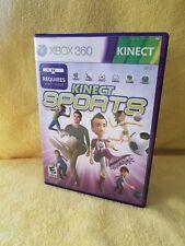 Kinect Sports (Microsoft Xbox 360) no manual
