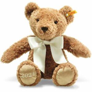 Steiff 113536 Cosy Year Bear 2021 with Steiff GIFT Box