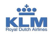 KLM Royal Dutch Airlines Handmade Logo Fridge Magnet (LM14064)