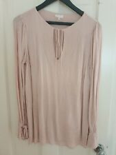 Ghost Blouse Size S In Blush