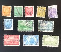 Canada Stamps. SC 149-159. 1928. Used. **COMBINED SHIPPING**
