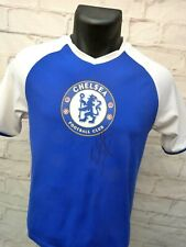 Maillot jersey FC CHELSEA signé flocked signed EDEN HAZARD ultras foot Blues