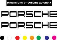 Sticker PORSCHE Etrier de Frein Autocollant Adhesif Véhicule Moto Biker Deco
