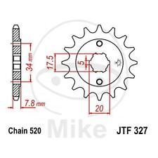 JT Sprockets Ritzel 15 Zähne Teilung 520 Alt. Honda XL 125 V Varadero JC32 JC49
