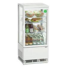 Mini vitrine réfrigérée 78 L, blanche Bartscher