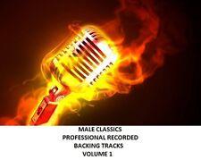MALE CLASSICS PROFESSIONAL RECORDED  BACKING TRACKS VOLUME 1