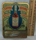 ANTIQUE SUNNY BROOK BOURBON TIN LITHO MATCH HOLDER SIGN 1904 ST LOUIS WORLD FAIR