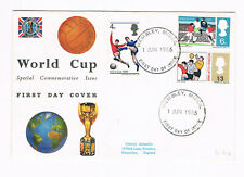 GREAT BRITAIN FDC WORLD CUP 1966 SPECIAL COMMEMORATIVE ISSUE WEMBLEY  (B9/100)