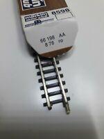Z, märklin, 8598, 1 Trenngleisstück, 110 mm, 1976, das 1.! - in OVP, K 3! RAR!