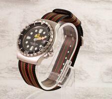 True James Bond 007 RAF type nylon watch strap 18 20 22 24 NATO UK