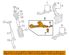 GM OEM Front Suspension-Lower Control Arm Left 19133553
