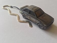 Ford Escort MK3 ref319 FULL CAR on a Curved bookmark with cord