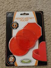 Red Hover Hockey Game Table Pucks 1 Octagon 2 Round EastPoint Sports