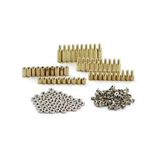 150pcs M3 Hex Brass Standoff Circuit Spacer Pcb Board Nut Screws Assortment Kit