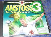 Anstoss 3 Fussballmanager - Anstoß 3 - PC - deutsch Original KULT Top