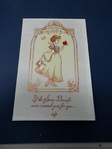 Snow White Disney Birthday Greeting Card American Greetings New HC2792