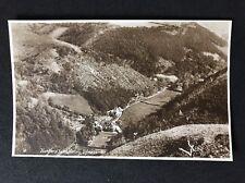 Vintage RPPC: Devon: #T109: Hunters' Inn & Valley, Ilfracombe