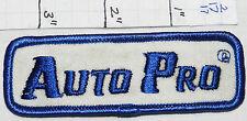 AUTO PRO CAR SERVICE VINTAGE ADVERTISING EMPLOYEE PATCH