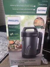 Philips Kitchen Appliances HR2204/70 - Philips Soup Maker, 1.2 Liters, Black