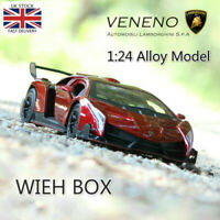 1:24 Lamborghini Poison Veneno Alloy Model Car Collectible Toy UK Stock