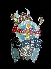 HRC hard rock cafe estocolmo 14th Anniversary Brown Viking Helmet Kiss Axe le750