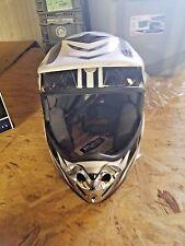 POLARIS Snowmobile Helmet BLACK/WHITE/GR  M