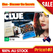 Cluedo Clue Discover the Secrets Family Brain Board Party Classic Mystery Game