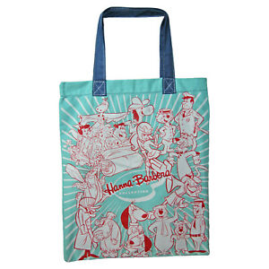 Hanna Barbera Bag. Collage of Characters. TV Cartoon Bag For Life Canvas