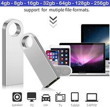 Metal USB 2.0 Tarjeta de Memoria Flash Pen Drive 16gb 32gb 64gb 128gb 256gb 512gb