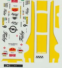 OPEL MANTA 400 SAINZ RALLY CATALUNYA 1984 DECALS 1/43
