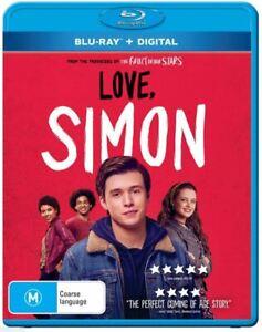Love, Simon (Blu-ray, 2018)..REG B...NEW & SEALED    V5