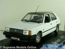 TALBOT HORIZON MODEL CAR 1:43 SCALE IXO WHITE 1983 CLASSIC 1980'S K8