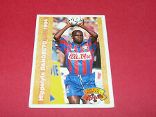 HIPPOLYTE DANGBETO STADE MALHERBE CAEN SMC FRANCE FOOTBALL CARD PANINI 1994