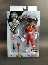Mighty Morphin Power Rangers Legacy Series Armored Red Ranger NIB