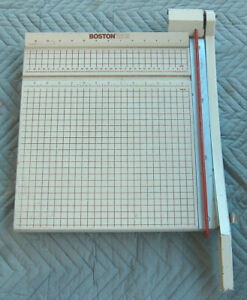 Boston 2615 Hunt Manufacturing Co 15X16.5 Heavy Duty Paper Cutter Trimmer USA GD